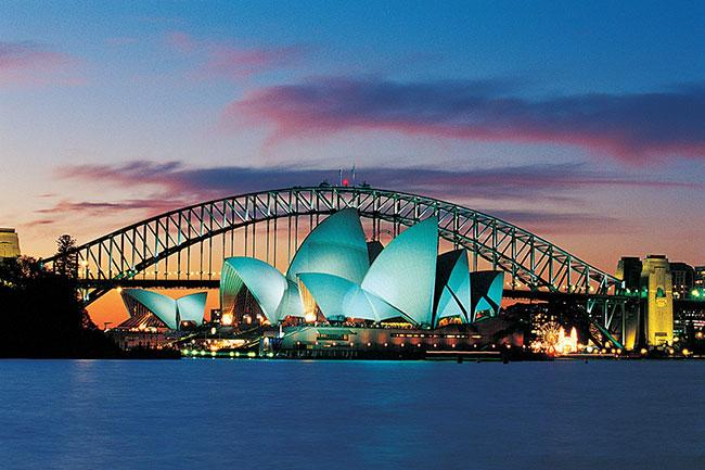 Tour Châu Úc